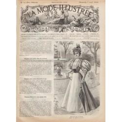 Complete magazine La Mode Illustrée 1896 N°14