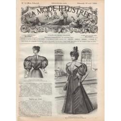 Revue complète de La Mode Illustrée 1896 N°16