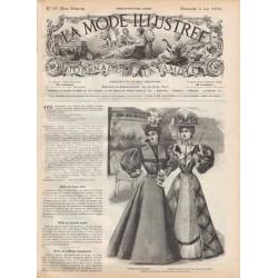 Revue complète de La Mode Illustrée 1896 N°18