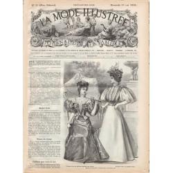 Complete magazine La Mode Illustrée 1896 N°20