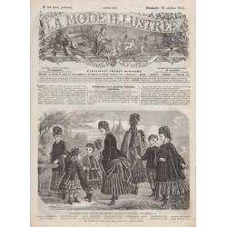 Revue complète de La Mode Illustrée 1874 N°42
