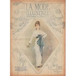Revue complète de La Mode Illustrée 1914 N°6