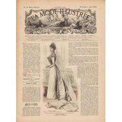 Complete magazine La Mode Illustrée 1899 N°10