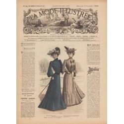 Revue toilette de bal, réunions, fourrure 1902-44