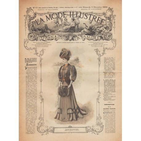 Revue complète de La Mode Illustrée 1906 N°52