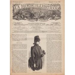 Complete magazine La Mode Illustrée 1886 N°11