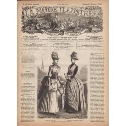 Complete magazine La Mode Illustrée 1886 N°13