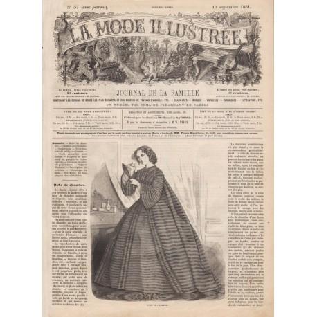 Revue complète de La Mode Illustrée 1861 N°37