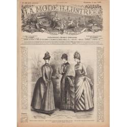 Revue complète de La Mode Illustrée 1886 N°19