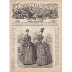 Complete magazine La Mode Illustrée 1886 N°26