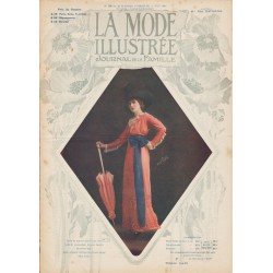 Complete magazine La Mode Illustrée 1912 N°23