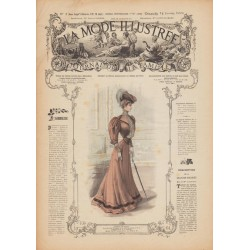 Complete magazine La Mode Illustrée 1906 N°02