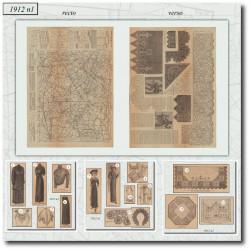 Sewing patterns La Mode Illustrée 1912 N°01