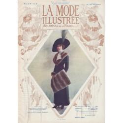 Complete magazine La Mode Illustrée 1912 N°06
