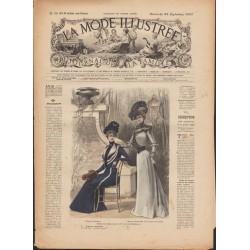 Complete magazine La Mode Illustrée 1900 N°38