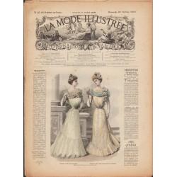 Complete magazine La Mode Illustrée 1900 N°42