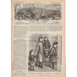 Complete magazine La Mode Illustrée 1890 N°10