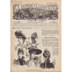 Revue complète de La Mode Illustrée 1890 N°14