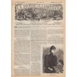 Revue complète de La Mode Illustrée 1890 N°16