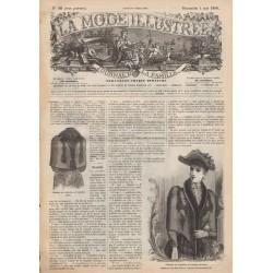 Revue complète de La Mode Illustrée 1890 N°18