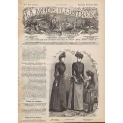 Complete magazine La Mode Illustrée 1890 N°7