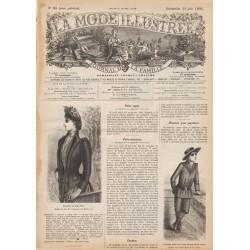 Revue complète de La Mode Illustrée 1890 N°25