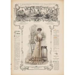 Complete magazine La Mode Illustrée 1907 N°17