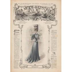 Revue complète de La Mode Illustrée 1907 N°18