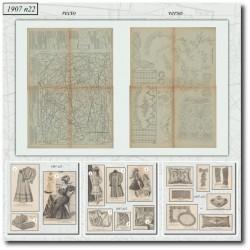 Sewing patterns La Mode Illustrée 1907 N°22