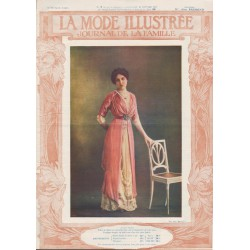 Revue complète de La Mode Illustrée 1911 N°4