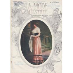 Complete magazine La Mode Illustrée 1911 N°6