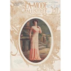 Complete magazine La Mode Illustrée 1911 N°9