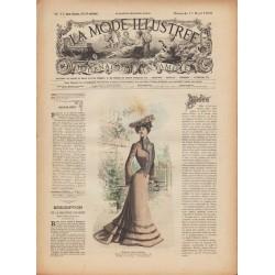 Complete magazine La Mode Illustrée 1902 N°15