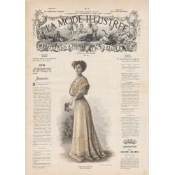 Complete magazine la Mode Illustrée 1908 09
