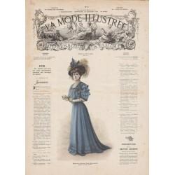 Complete magazine la Mode Illustrée 1908 02