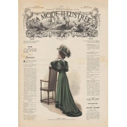 Complete magazine la Mode Illustrée 1908 07