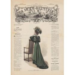 Revue complète de La Mode Illustrée 1908 N°07