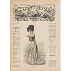 Revue complète de La Mode Illustrée 1908 N°11