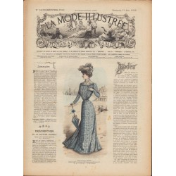 Complete magazine La Mode Illustrée 1902 N°24