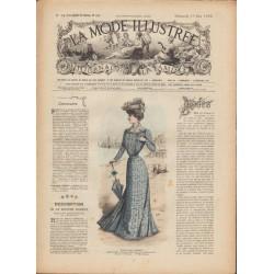 Revue complète de La Mode Illustrée 1902 N°24
