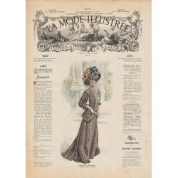 Complete magazine la Mode Illustrée 1908 15