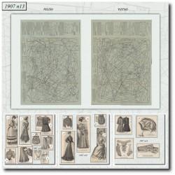 Patrons-robe-sports-ombrelle-paris-mode-1907-13