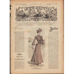 Complete magazine La Mode Illustrée 1903 N°20