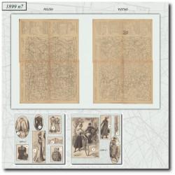 Sewing patterns La Mode Illustrée 1899 N°07