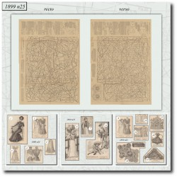 Patrons de La Mode Illustrée 1899-25