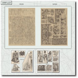Sewing patterns La Mode Illustrée 1899 N°33