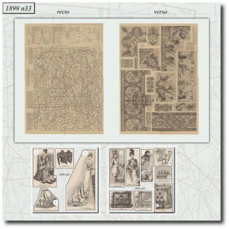 Sewing patterns-bride-1899-33
