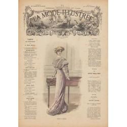 Complete magazine La Mode Illustrée 1909 N°04