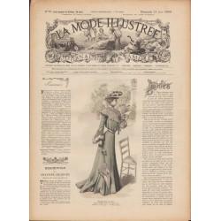 Revue complète de La Mode Illustrée 1903 N°25