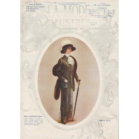 Complete magazine La Mode Illustrée 1911 N°39